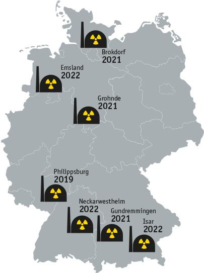 Atomkraftwerke Deutschland Karte.Akw Asoziales Netzwerk Sektion Neuss